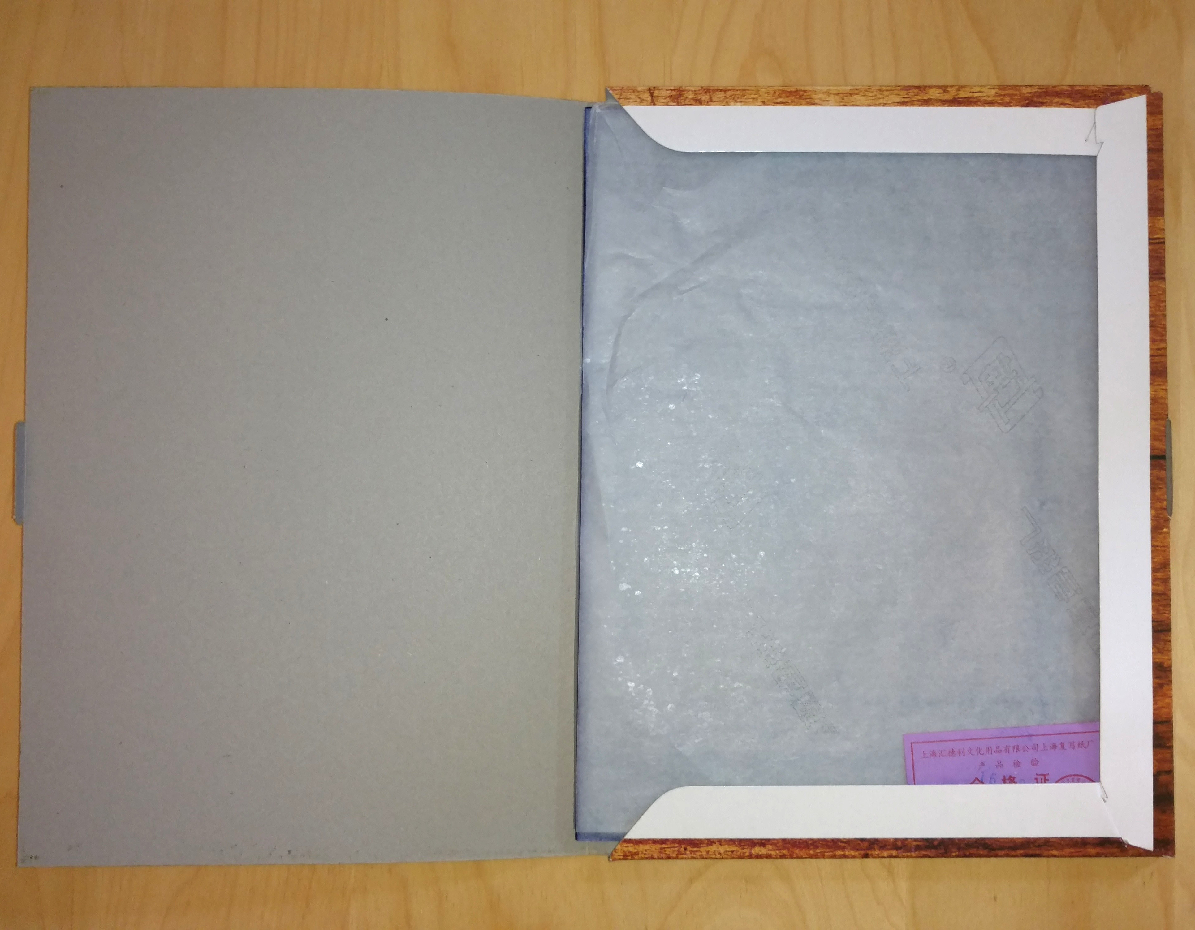 100 Sheets Carbon Transfer Blue Tracing Paper For