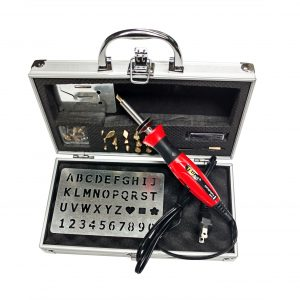 30W woodburning kit with aluminum case