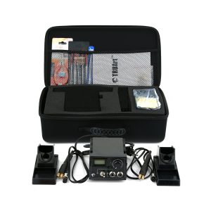 60W Dual Professional Woodburning Detailer set with case and accessories