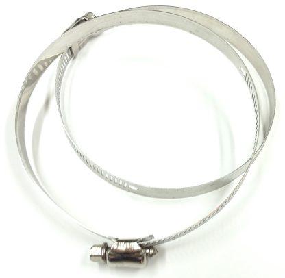 TRUArt smoke extractor hose clamps